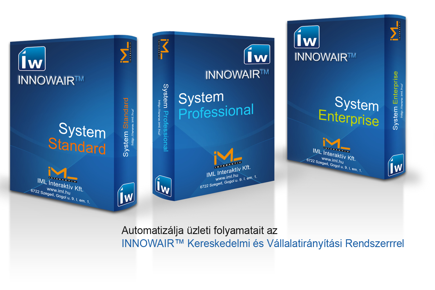 INNOWAIR Rendszer